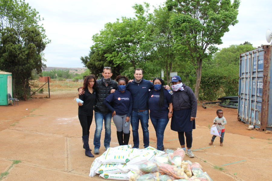 Constantia reaches out to the Kromdraai Community